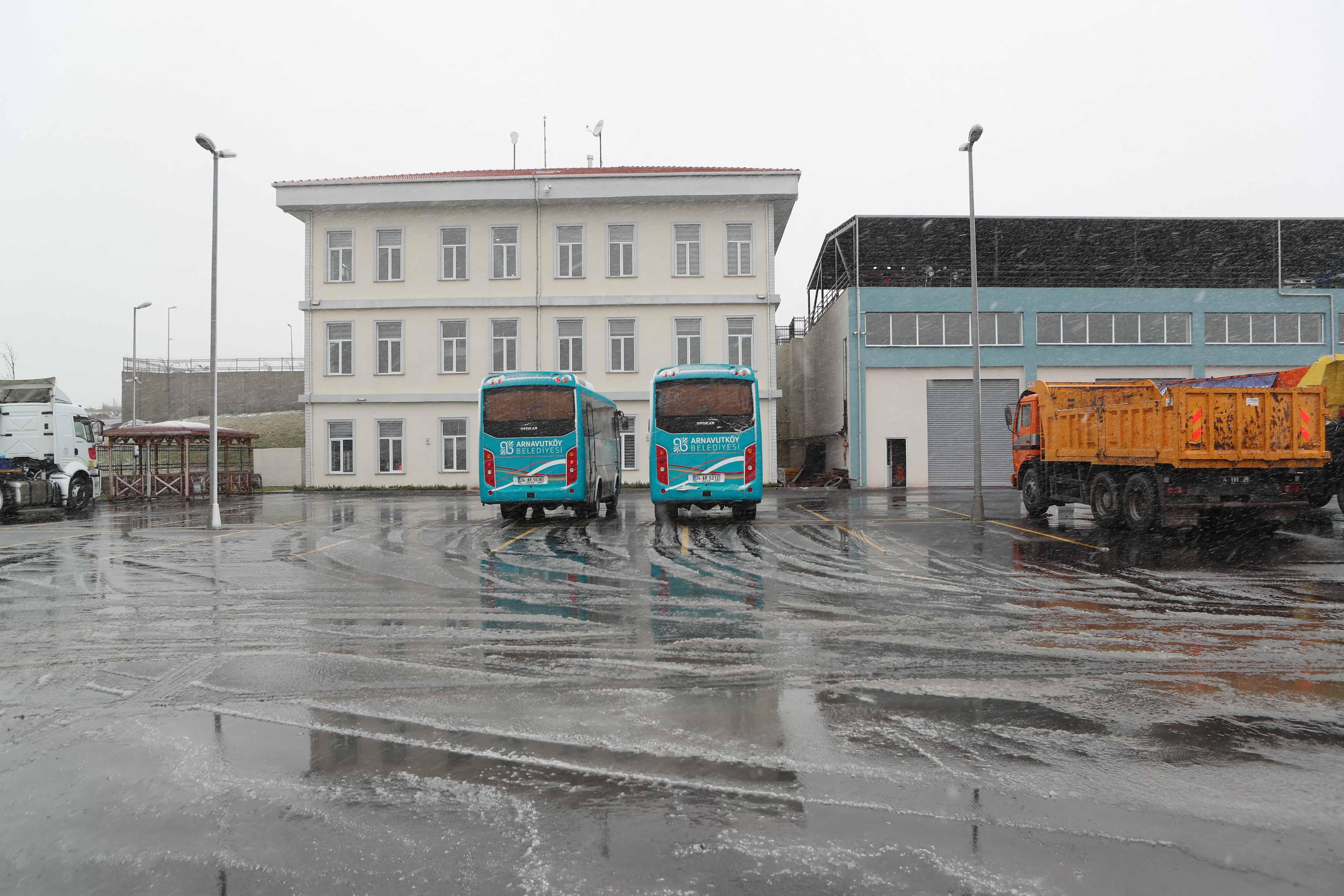 Ulaşım Hizmetleri ve Afet Koordinasyon Ek Hizmet Binası