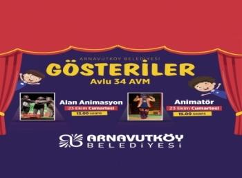 Alan Animasyon ve Animatör Gösterisi