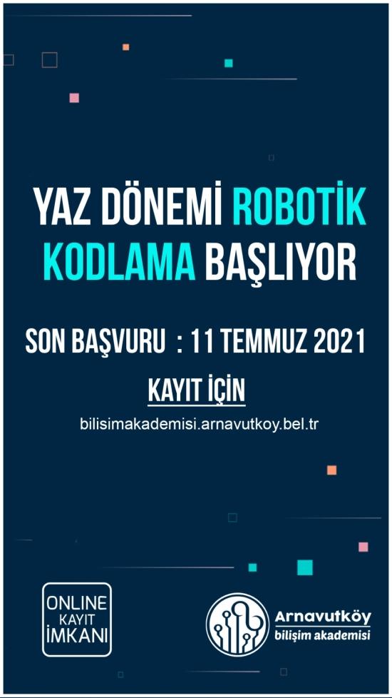 Robotik Kodlama 3. Dönem