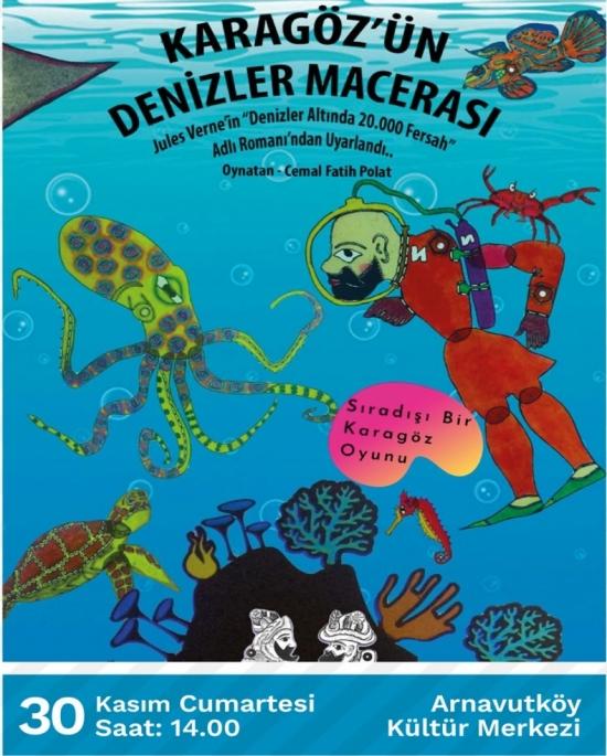 Karagöz'ün Denizler Macerası