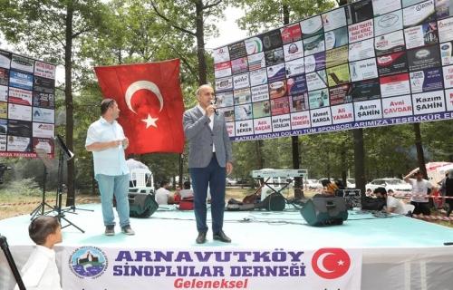 Başkan Baltacı, Sinoplular Pikniğine Katıldı