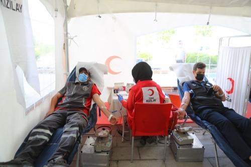 Arnavutköy Belediyesi'nden Kızılay'a Kan Bağışı Desteği