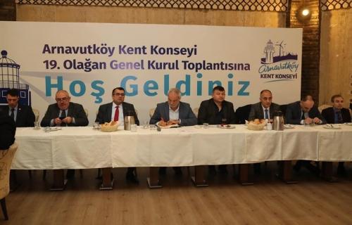 Arnavutköy Kent Konseyi'nin 19. Genel Kurul Toplantısı Yapıldı
