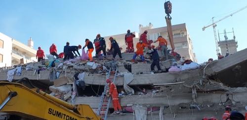 ARKUR, Deprem Bölgesinde Çalışmalarını Sürdürüyor