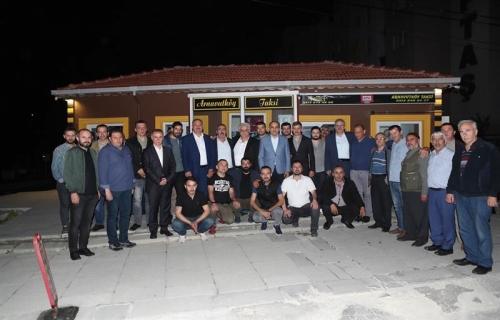 Başkan Baltacı, Sahurda Taksicilerle Buluştu