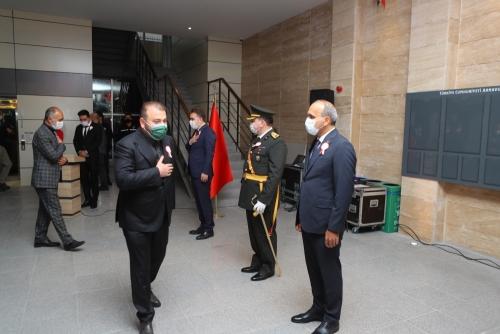 """29 Ekim """"Tebrikat Kabul Töreni"""" Düzenlendi"""