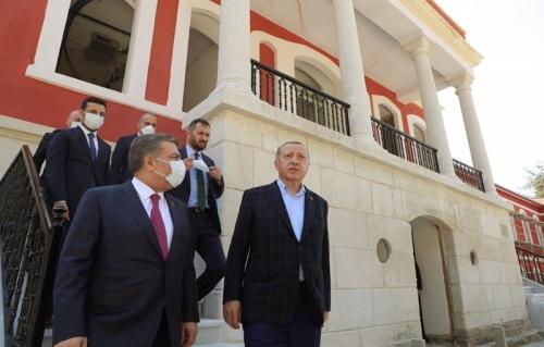 Cumhurbaşkanı Arnavutköy'de
