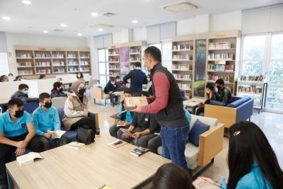 Öğrenciler Okuma Etkinliğine Katıldı