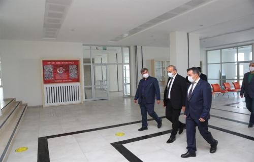 Başkan Baltacı, İlçeye Yeni Kazandırılan Okulu Ziyaret Etti