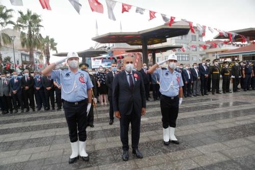 Zafer Bayramı'nın 99. Yılı Törenle Kutlandı