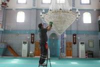 Her gün 2 Caminin Temizliği Yapılıyor