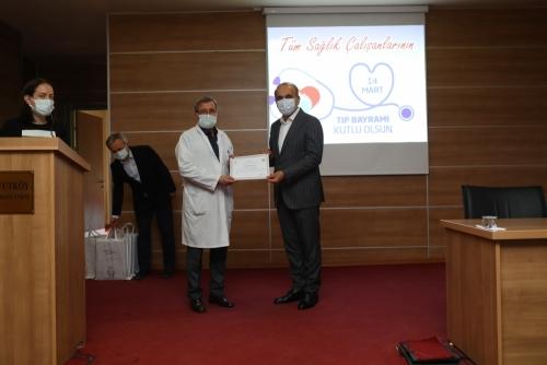 Başkan Baltacı, Sağlık Çalışanlarıyla Bir Araya Geldi