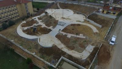 Haraççı'ya Yeni Park