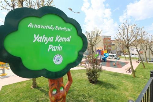 Yahya Kemal Parkı Revize Edildi