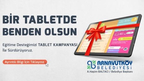 Eğitime Destek Tablet Kampanyası İle Devam Ediyor