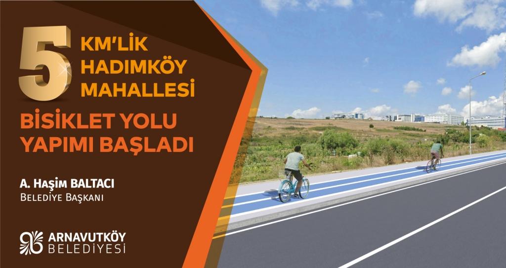 hadımköy bisiklet yolu