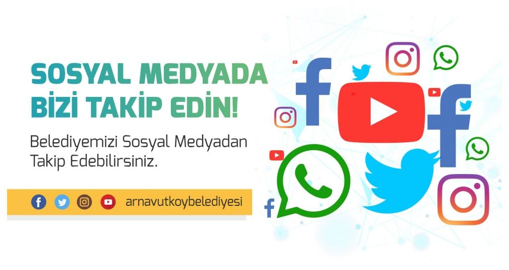 Sosyal Medyada Bizi Takip Edin!