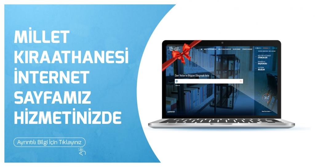 Millet Kıraathanesi İnternet Sayfası Açılmıştır.